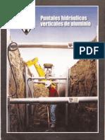 Entibado Metalico_ Puntuales Hidraulicos Verticales de Aluminio
