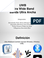 AU3CM40 Eq6 Ultra Wide Band (Presentación)