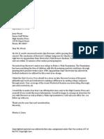 jones pitch letter rewrite