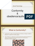 conformity obedience authority lecture