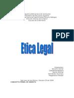 Trabajo Etica Legal