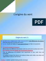 Fiche 17 Cours Meteo 3 L-Origine Du Vent- Les Vents.