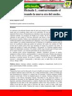 Artículo final de Valeriana officinalis L e insomnio