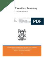 laporan praktikum ventilasi tambang