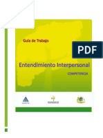 Entendimiento Interpersonal