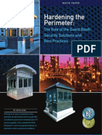 Role of Guard Booth-Hardening the Perimeter