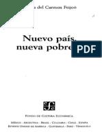 NUEVO PAÍS NUEVA POBREZA. M.delC FEIJOO PAG. 1 - 97