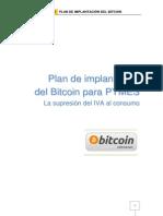 Plan de implantación del Bitcoin para pymes (La supresión del IVA al consumo)