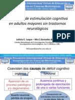 Estimulacion Cognitiva Adultos Mayores Luque