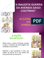 INAUDITA GUERRA Categorias Narrativa Ppt Bom