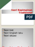 Bab 6.3 Teori Kepimpinan Tradisional- Lim - Firdaus
