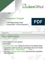 Libreoffice Presentation Template Community