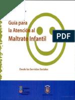 Guía para la Atención Al Maltrato Infantil Desde Los Servicios Sociales