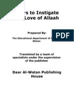 En Ways to Instigate the Love of Allah