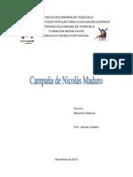 CAMPAÑA DE NICOLAS