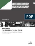 Manual Ha4700