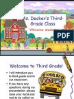 Ms Parnes' Pre-Kindergarten Class