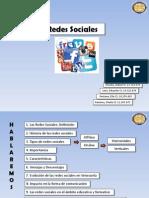 Redes Sociales Presentación