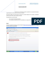 Guía de conexión VPN