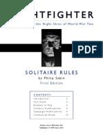 Nightfighter Solo Solitaire Rules ThinkAI