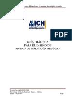09.- Guía práctica para el diseño de muros de homigón armado.
