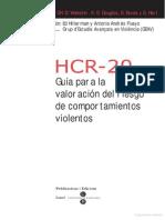 Guía para la valoración del riesgo de comportamientos violentos
