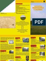 Triptico Arqueologica y Cultural