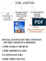 Social Justice in the Context of the Church_s Mission