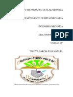 Electronica Unidad 2 Tafoya
