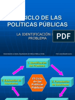IDENTIFICACION DEL PROBLEMA DE LAS POLÍTICAS PÚBLICAS