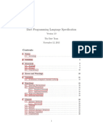 Dart Language Specification
