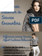 Lesson 3 - Consumer Behavior in Service Encounters