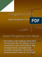 Pengolahan Citra III Sistem Pengolahan Citra Digital
