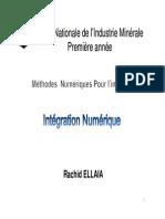 Chap5 Integration Numerique