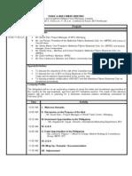 Program for Winnipeg Canada Delegationv1