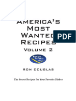 Americas Most Wanted Recipes Volume 2 Ron Douglas