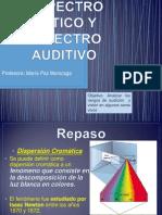 Espectro Optico y Espectro Auditivo