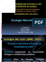 AULA Ecologia Microbiana Nos Solos