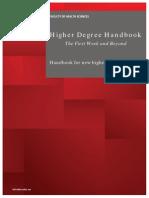 Fhs Hdr Handbook 2013