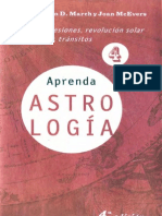 Aprenda Astrologia Volumen 4- Marion d March y Joan Mcevers