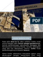 Sejarah Perkembangan Arsitektur Gothic