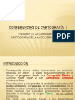 1.- Conferencias de Cartografa i Cartografia de La Antigedad Clsica