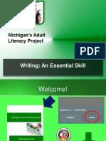 Writing An Essential Skill