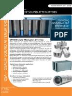 Sound Attenuators Leaflet