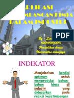Aplikasi Kesetimbangan Kimia Dalam Industri Siti Aminah Al Hadi