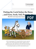 2013 - Communiqué 111 4 sep 3 pm - Putting the Cartel before the Horse
