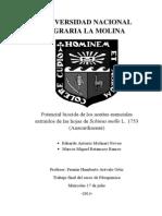 Trabajo final de aceites esenciales de molle - Fitoquímica 2013-I