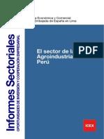 El sector de la Agroindustria en el Perú (2010)