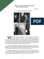 Heinrich Himmler Speech - 18.02.1937