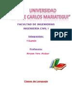 Comunicacion Oral y Escrita Clases de Lenguaje Y Funciones del Lenguaje UJCM